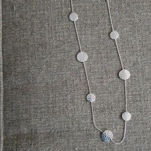 Liz Claiborne silver necklace